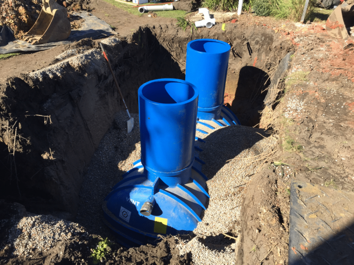 Long Reef Golf Club Grease Trap Installation 11
