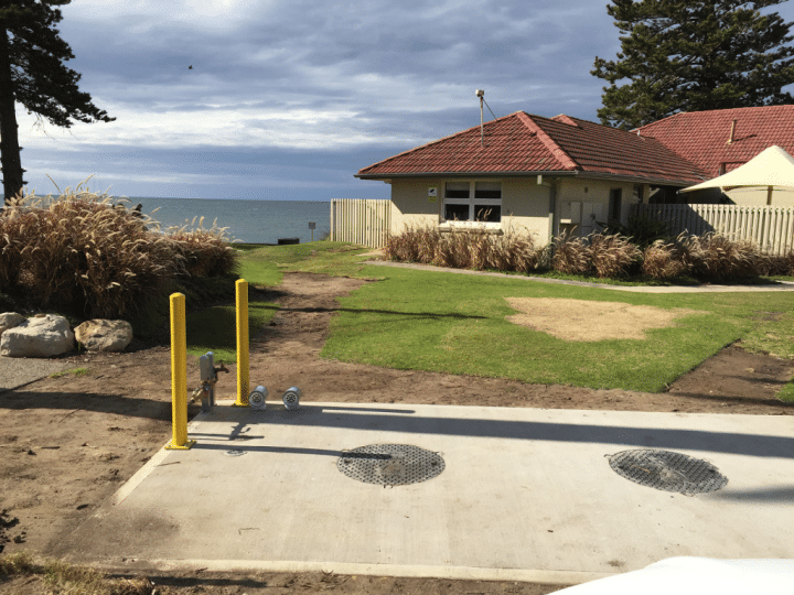 Long Reef Golf Club Grease Trap Installation 17