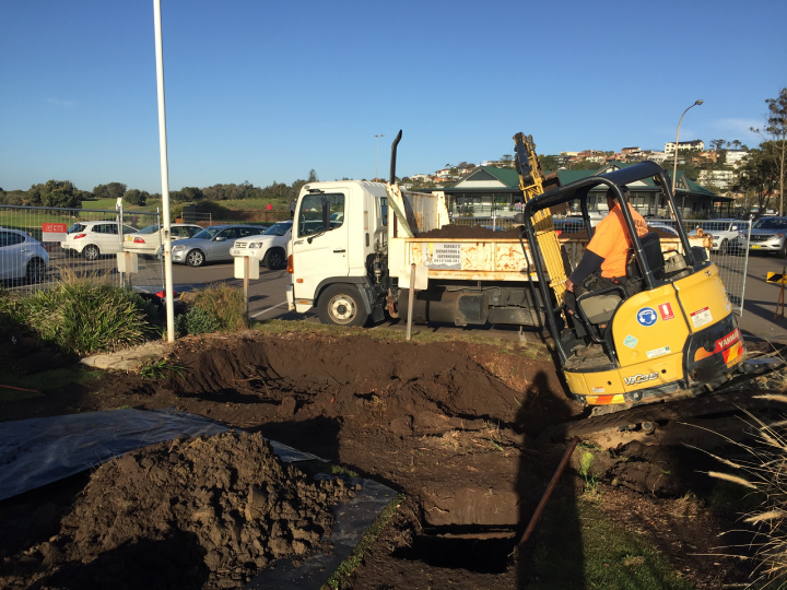 Long Reef Golf Club Grease Trap Installation 3