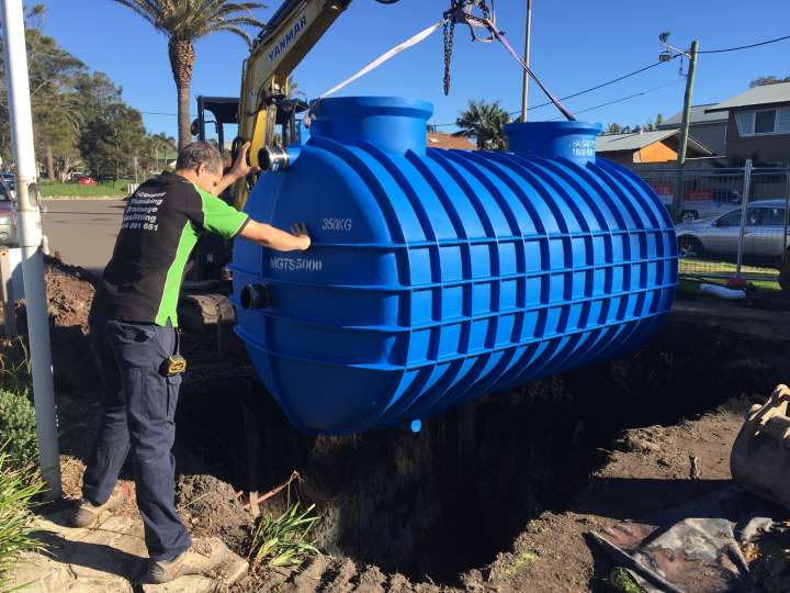 Long Reef Golf Club Grease Trap Installation 5